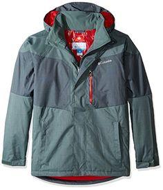 Columbia Men's Alpine Action Jacket, Pond/Deep Green, Medium ** Visit the image link for more details. #MensCampingClothing