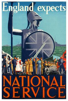 'England Expects National Service' ~ C.W. Bacon, 1939 through 1945, WWII