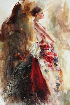 Contemplation1 by Anna Razumovskaya