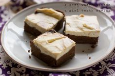 Grain-Free Cheesecake Brownies - Bet I could top this with whipped coconut cream instead of the cream cheese to make this dairy-free too! And a few tweaks to make it truly paleo...