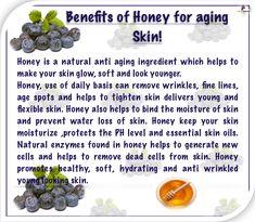 Anti wrinkles face mask helps to eliminate wrinkles age spots. Honey Benefits, Wrinkled Skin, Wrinkle Remover, Skin Tightening, Aloe Vera Gel, Anti Wrinkle, Glowing Skin, Anti Aging, Remedies