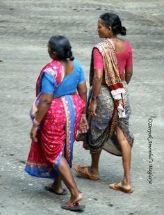 Traditional draping of 9yard sari  by magiceye