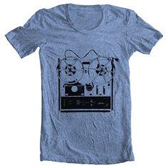 T Shirt hommes American Apparel Reel to par FullSpectrumApparel, $22.00