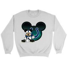452da9fa1 NFL – Indianapolis Colts Mickey Mouse Football Shirt-T-shirt-Crewneck  Sweatshirt-