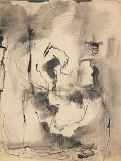 Mark Rothko, Untitled, 1946 -  watercolor, ink and graphite