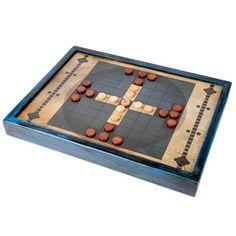 Tablut. Juego de mesa céltico de estrategia