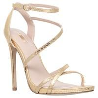 Buy Carvela Georgia Leather High Heel Strappy Sandals, Gold £110 from Women's High Heel Sandals range at #LaBijouxBoutique.co.uk Marketplace. Fast & Secure Delivery from John Lewis online store.