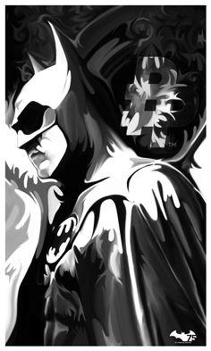 Batman v2 BW