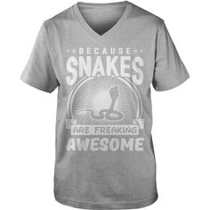 Because Snakes Are Freaking Awesome T-Shirt #gift #ideas #Popular #Everything #Videos #Shop #Animals #pets #Architecture #Art #Cars #motorcycles #Celebrities #DIY #crafts #Design #Education #Entertainment #Food #drink #Gardening #Geek #Hair #beauty #Health #fitness #History #Holidays #events #Home decor #Humor #Illustrations #posters #Kids #parenting #Men #Outdoors #Photography #Products #Quotes #Science #nature #Sports #Tattoos #Technology #Travel #Weddings #Women