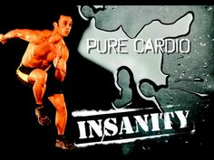 PURE Cardio has no breaks at all! Full board cardio from start to finish. I guess that is why they call it INSANITY! my-fitness-journey ab-challenge Pure Cardio, Cardio Abs, Ab Workouts, Fitness Exercises, Best Ab Workout, Hard Workout, Workout Guide, Workout Body, Workout Ideas
