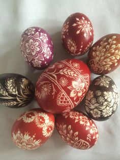 Lithuanian Easter Eggs
