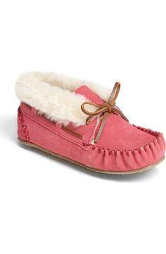 153883395001 Cat   Jack Toddler Girls  Medora Glitter Moccasin Slippers - Cat   Jack Pink   giftideas afflink