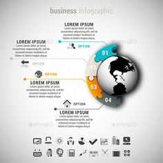Business Infographic — Vector EPS #modern #vector • Available here → https://graphicriver.net/item/business-infographic/10093623?ref=pxcr