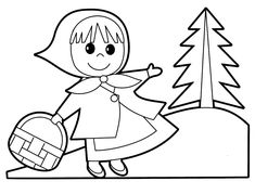 Little people coloring pages for babies 24
