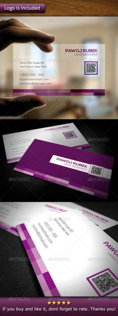 "Corporate Business Card #GraphicRiver - 3.5×2"" print dimension, with Bleed and Guides. - Layered Ai and EPS file. - CMYK, Print ready. - You can change text and colors very easy using the named and organized layers that includes the file. - The typography used is Nexa you can download here: fontfabric /nexa-free-font/ Created: 15November13 GraphicsFilesIncluded: VectorEPS #AIIllustrator Layered: Yes MinimumAdobeCSVersion: CS PrintDimensions: 3.5x2 Tags: 300dpi #ConsultingAgency #architects…"