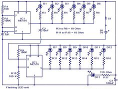LED Christmas Lights Circuit Diagram and Working