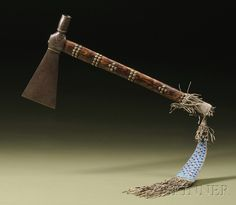 Northern Plains Pipe Tomahawk | Sale Number 2596B, Lot Number 159 | Skinner Auctioneers