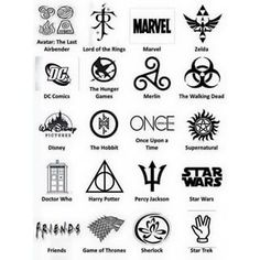 DC Comics, Hunger Games, Walking Dead, Disney, Harry Potter, Percy Jackson!!!