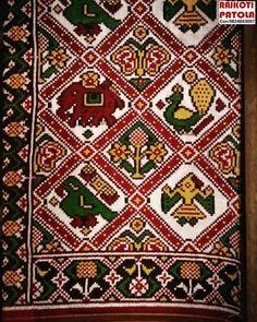 Pure double and single ikkat patola silk sarees. Tussar Silk Saree, Pure Silk Sarees, Graph Design, Pattern Design, Kerala Saree Blouse Designs, Bandhani Dress, Graph Paper Art, New Mehndi Designs, Ikat