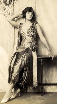 You will often find Dorothy Knapp mentioned on Louise Brook's web pages, as they starred together in the 1925 Ziegfeld Follies, the only Follies Louise Brooks was ever in. She also performed in the Ziegfeld Follies of 1924