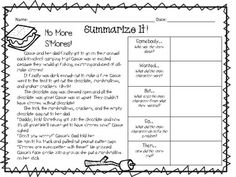 A pack with THIRTEEN printable passages and a SWBST graphic organizer. I have separated out the passages so you can buy single passages or if you want all of them you can buy the whole pack. Grade 3, Second Grade, Summarizing Activities, Readers Workshop, Graphic Organizers, Anchor Charts, School Projects, Comprehension, Language Arts