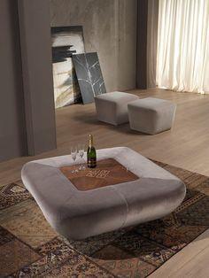 Fesselnd Design Storage Wooden Pouf Pouf Morfeo Carpanelli Contemporary 2013  Collection By Carpanelli