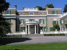 Franklin D. Roosevelt - Home at Hyde Park NY