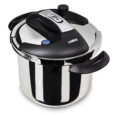 Tower One-Touch Pressure Cooker 6 L  Stainless Steel Tower One Touch Pressure Cooker Stainless is one of the best online products in Kitchen category in UK. Click below to see its Availability and Price in YOUR country.