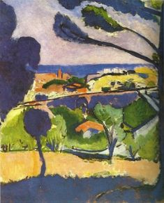terminusantequem: Henri Matisse (French, 1869-1954), View of Collioure and the Sea, 1911. Oil on canvas