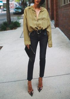 Fashion Tips To Help You Improve Your Look – Fashion Trends Estilo Fashion, Look Fashion, Autumn Fashion, Fashion Outfits, Womens Fashion, Jeans Fashion, Fashion Heels, Fashion 2018, Fashion Killa