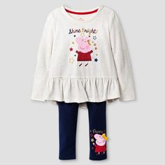 Toddler Girls& Peppa Pig T-Shirt - Multi-Colored : Target Paw Patrol Outfit, Peppa Pig Family, Tee Shirts, Tees, Little Girl Fashion, Shinee, Toddler Girls, Bright, How To Wear