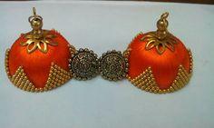 Silk Thread Jumkas, Silk Thread Earrings, Thread Art, Quilling Jewelry, Paper Jewelry, Jewelry Crafts, Diy Earrings, Earrings Handmade, Handmade Jewelry