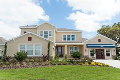 D R Horton. Westport floor plan. 4 bedrooms, 3.5 bath. This home is designed for living large, natural light is abundant in every room. #POH2014 #OrlandoHomes #Orlando