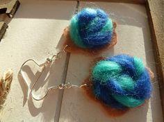 Martinuska / tyrkysovo modré mäkké náušničky