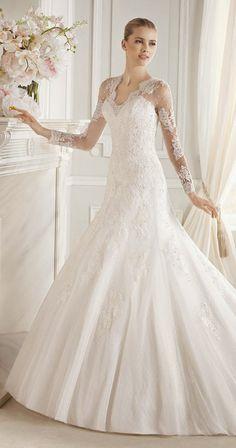 La Sposa Barcelona 2015 Bridal Collection Wedding Dress