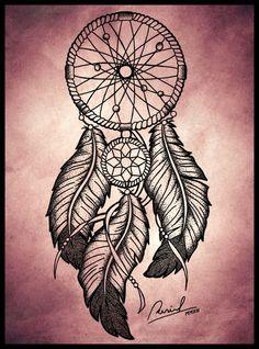Татуировка Ловец Снов   Значение тату   62 эскиза и фото — Лучшая подборка!
