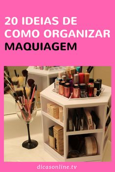Makeup Organization, Organisation Ideas, Bedroom Decor For Teen Girls, Makeup Collection, Make Up, Skin Care, Home Decor, Makeup Items, Beginner Makeup