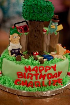 Phineas and Ferb Cake DaneseGriffith