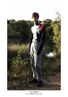 Last Dream editorial, features Luke GlazsheratElite London, photographed by Caoimhe Hahn andstyled by Sam Gallagher, using pieces from COS, Daniel W Fletcher, Theory, Valentino, John Varvatos, S…