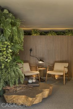 mf arquitetos tartuferia san paolo restaurant is filled with green space Tropical Architecture, Interior Architecture, Interior Exterior, Home Interior Design, Estilo Interior, Garden Design, House Design, D House, Diy Garden Decor