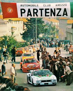 Lancia  Monte Carlo Betta Rally #Italia #Rally #Walter #Rohrl #Alitalia (via openairmotorist)