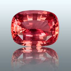 Cushion shaped padparadscha sapphire More