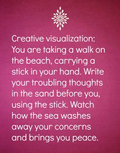 Relaxation tip no. 16