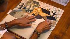 quilt mystère YOKO SAITO bloc 5 1/1 - YouTube