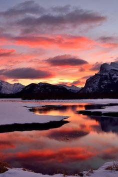 Beautiful Morning - Banff National Parkby Shuchun D