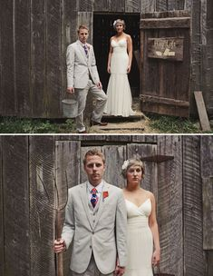 Especially love this American Gothic photo! I know we have a pitchfork around here somewhere...