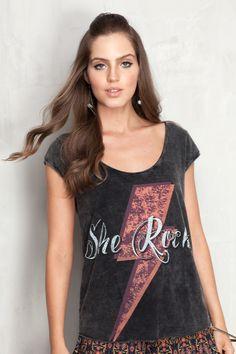 blusa she rocks | Dress to