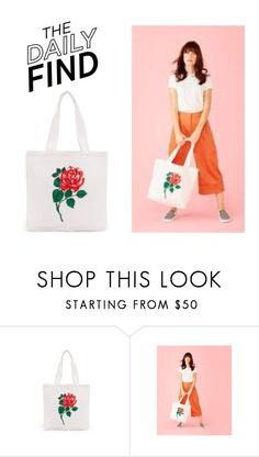 """""""The Daily Find: Ban.do Tote"""" by polyvore-editorial ❤ liked on Polyvore featuring DailyFind"""