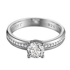 Esprit Women-Ring Grace Glam Ring ESRG91609A