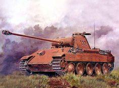 Panzerkampfwagen V Panther. (Revista de Historia)